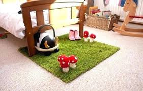 rug that looks like grass a green rug with felt mushrooms i love how it looks rug that looks like grass