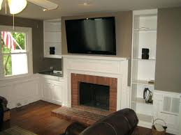 hanging tv over fireplace ct mounted over fireplace all wires mounting tv above gas fireplace
