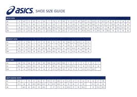 Asics Shoe Size Chart Uk Size Conversion Chaussure Uk Europe Hommes Asics