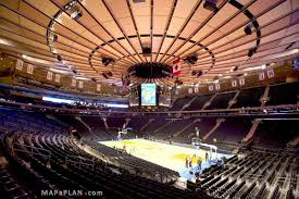 Madison Square Garden Seating Chart Actual View Level 100