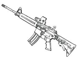 Gun Coloring Pages Gun Coloring Pages Gun Coloring Pages Machine A
