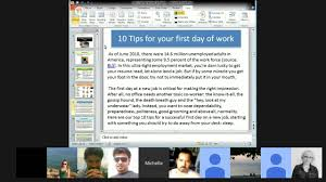 10 tips for a successful first day at work in english 10 tips for a successful first day at work in english
