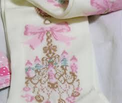angelic pretty sweetie chandelier over knee socks