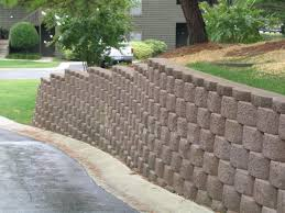 Small Picture big block retaining wall installation manual big block inc