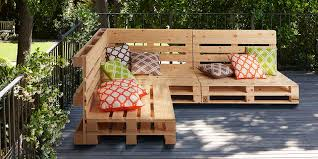 give pallets a new purpose with our simple guide on how to create some fun and functional garden furniture