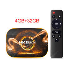 2020 <b>Android 10</b> Samrt TV Box HK1 Rbox 4GB RAM 64GB ...