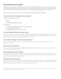 Job Specific Resumes Resume Templates Office Radtourism Co