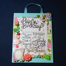 happy birthday overflow with love wall decor crystaldollies handmade with love