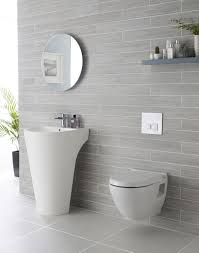 bathroom tiles grey and white. Perfect Bathroom We Adore This White And Grey Bathroom Complete With Lavish Basin In Bathroom Tiles Grey And White B