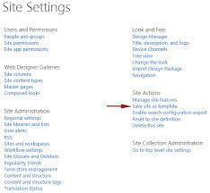 Sharepoint 2013 Site Templates Sharepoint 2013 How To Save Your Site As A Template