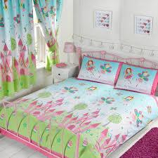 kids double duvet cover sets dinosaur army birds unicorn boys girls bedding