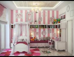 Bed Girly Bedroom Designs Classic Design
