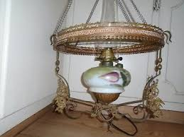 antique victorian hanging ornate brass ceiling chrystal s chandelier lantern