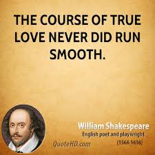 william shakespeare love quotes quotehd the course of true love never did run smooth