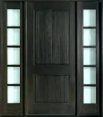 front door and sidelights craftsman with side glass panels commercial steel doors replacement