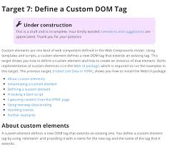 A Game of Darts, Target 7: Defining a Custom DOM Tag Using Dart's ...
