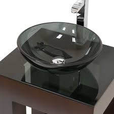 Black Bathroom Vanity With Bowl Sink Quint Magazine And White Tile Cabinets Sink Bowls On Top Of Vanity O49