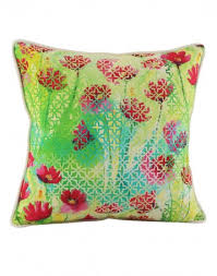 green pillow shams. Unique Pillow Rajasthani Decor Green Pillow Shams Indian Style Cotton Throw Pillows  Jaipuri Designs Single Cushion Covers Digital Printed Floral   Intended F