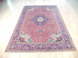 details about red navy blue 7x10 persian rug hand knotted semi antique sarouk area rug