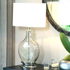 Glass Base Table Lamps Extraordinary Fill Lamp Base Glass Lamp Base Good Glass Base Lamps Or Home Tall