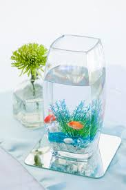 Goldfish Centerpieces | ASHLEY LYNN PHOTOGRAPHY | http://knot.ly/6494Bt9Rg