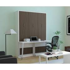 aliance murphy bed with desk anthracite aliance murphy bed desk