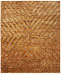 jonathan adler for kravet orange bridget area rug