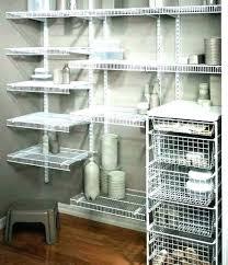 closet maid shelf wire shelving ideas shelves best wardrobe closetmaid and rod