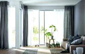 sliding window curtains sliding window curtains door for large glass doors curtain rods large sliding glass