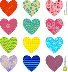 Patterned Interesting Patterned Hearts Stock Illustration Illustration Of Clipart 48