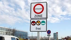 Германия – Экологические зоны Umweltzone • Autotraveler.ru