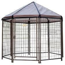 outdoor pet gazebo dog kennel