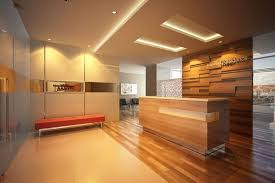 office reception area design. Formal Office Reception Area Design Ideas With Stylish Wooden Desk And Enticing Cozy Track Lighting E
