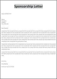 Event Sponsorship Letter Extraordinary Sample Sponsorship Letter Templates Event Sponsor Request Template