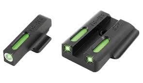 truglo tg13rs2a tfx night sights ruger lc9 lc9s lc380 tritium fiber optic green w white outline front green rear black
