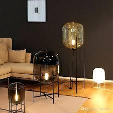 glass floor lamp style glass floor lamp retro melon floor lights fashion design glass table lamps