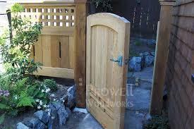 wood garden gates in san francisco ca