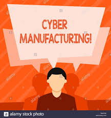 Tw Design And Manufacturing Word Writing Text Cyber Manufacturing Business Photo
