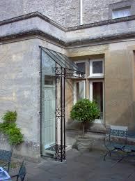 porches canopies ironart of bath beech glass and wrought iron door canopy home decor websites