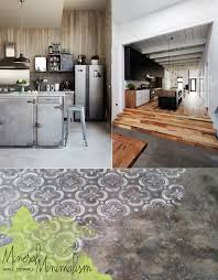 Kitchen And Flooring Living The Trend Concrete Kitchen Dining Room Design Dine X