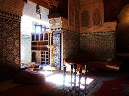 Interior:Fancy Moroccan Interior Design With Classic Furniture And Artistic  Wallpaper Idea Fancy Moroccan Interior