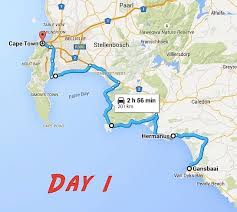 the perfect garden route itinerary as