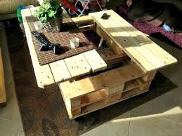 multifunction pallet coffee table