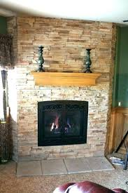 refinish brick fireplace refacing with stone veneer cost to reface refinishing paint covering