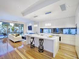 kitchen floor lighting. kitchenaccent black barstools white laminate kitchen island pendant lights glass window modern interior floor lighting