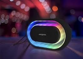 Light Speaker Creative Halo Programmable Light Speaker