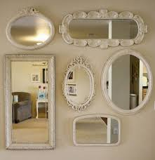 Shaped like a sun, six arms surround with smaller circular mirrors at each. It S Party Time Linky Party 18 Features And An Announcement Cupcakes Crinoline Mirror Gallery Wall Mirror Gallery Mirror Wall