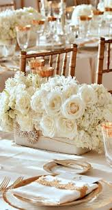 Image Bouquets Totally Adorable White Christmas Floral Centerpieces Ideas 05 Round Decor Totally Adorable White Christmas Floral Centerpieces Ideas 05