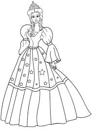 Disegno Di Principessa Da Colorare Disegni Da Colorare E Stampare
