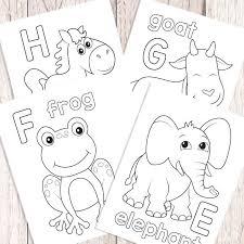 letters e f g h
